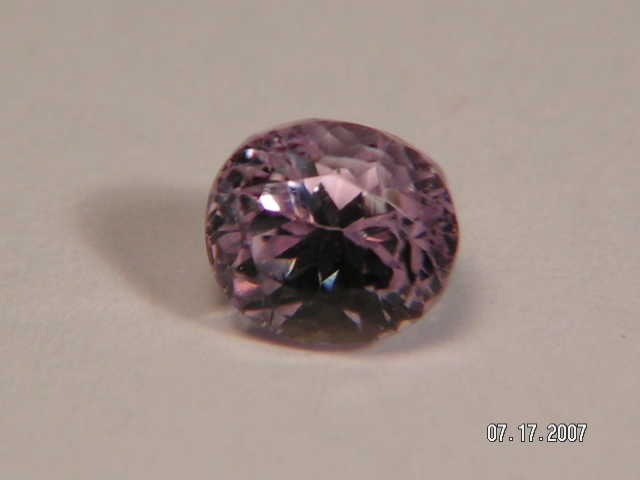 Dark Kunzite, Untreated