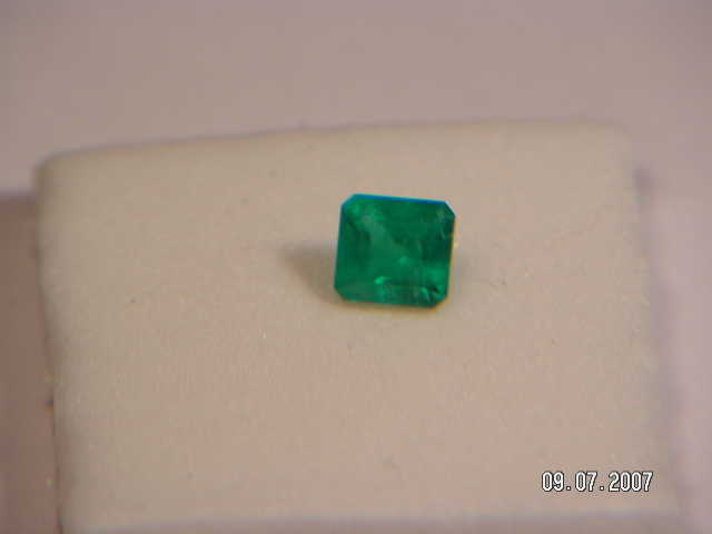 Natural Earth Mined Colombian Emerald