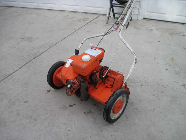 Old Style Lawn Mower