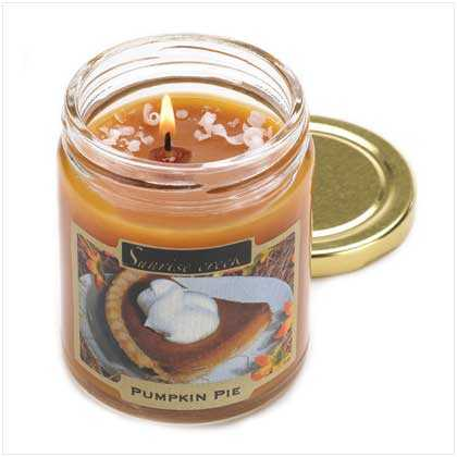 Pumpkin Pie Scented Candles