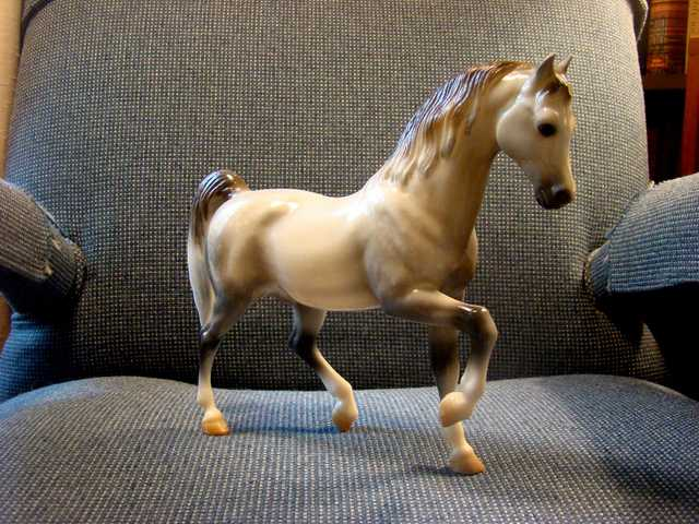 Dapple Gray Arabian Breyer Horse - Sale!