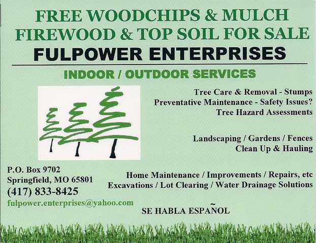 Fulpower Enterprises, Indoor / Outdoor Services