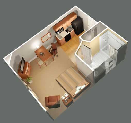 Furnished Temporary Housing $250.00 Per Week Or $960 Per Monthly!