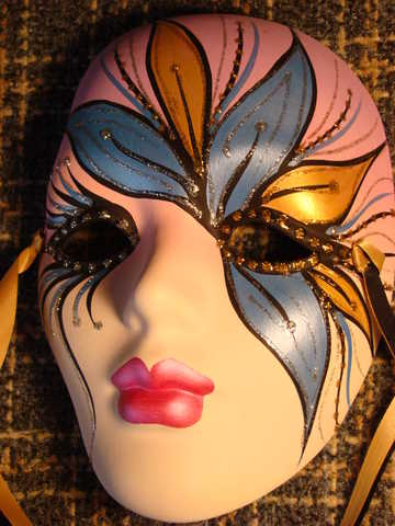 Mardi Gras Mask (From New Orleans) - Clearance!
