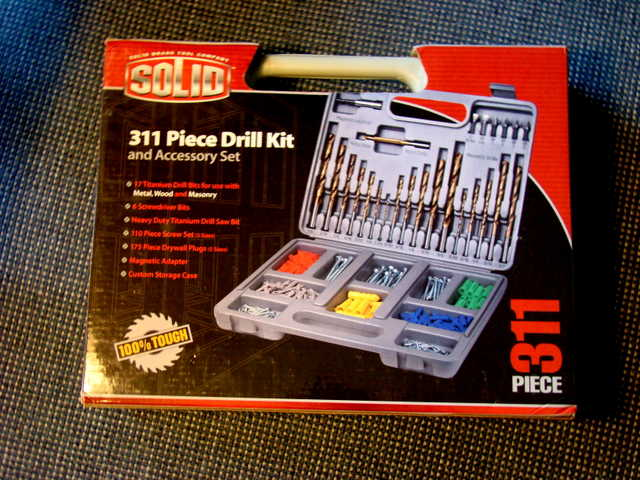 Solid 311 Piece Drill Kit - Sale!