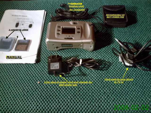 Pdc 640 Polaroid Digital Camera And Power Pack Complete Kit