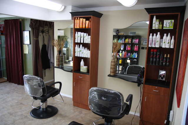 Esthetician, Massage Therapy, Hair Or Nails Treatment Room For Re