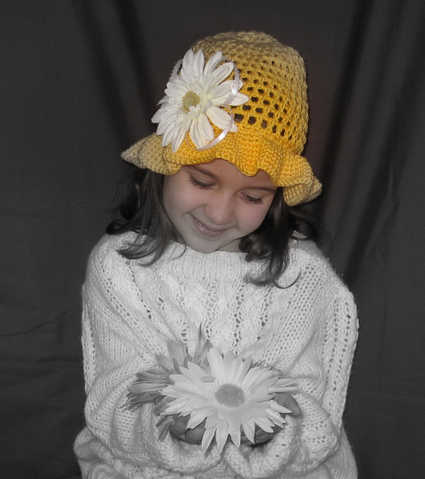 Crocheted Wearables For Girls