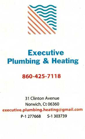 Do You Have A Plumbing Or Heating Problem Call Us @ 860 - 425 - 7118
