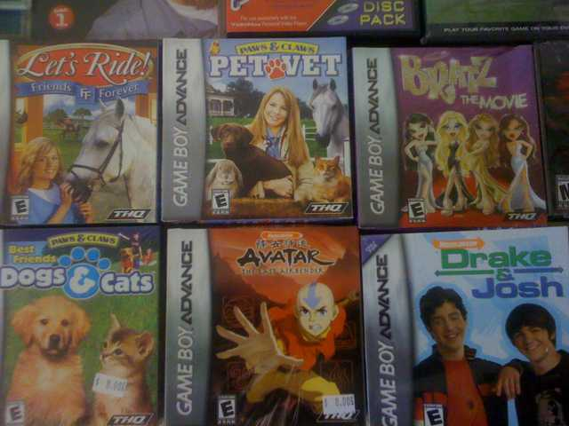 New Gba Ds Game Boy Advance Games