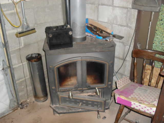 Wood And Coal Stove