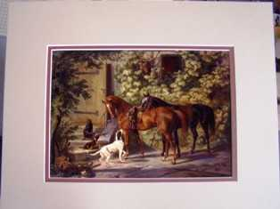 Collectibles & Matted Art Prints - A Nice Gift Idea!