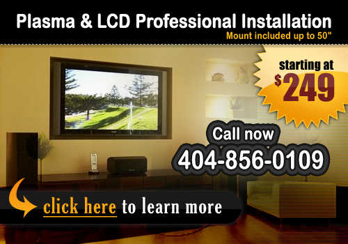 Plasma / Lcd And Home Theater Installations