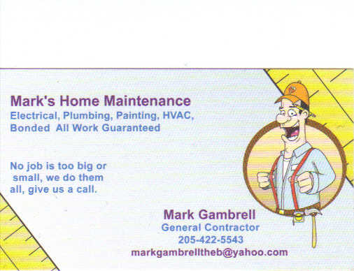 General Contractor Home Maintenance