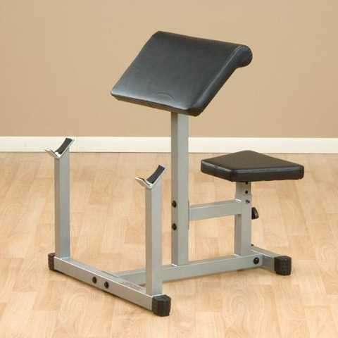 Body Solid Preacher Curl Bench Used Body Solid 80
