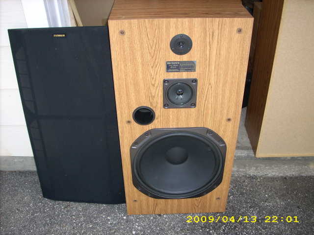 Fisher 15 3 - Way Speakers