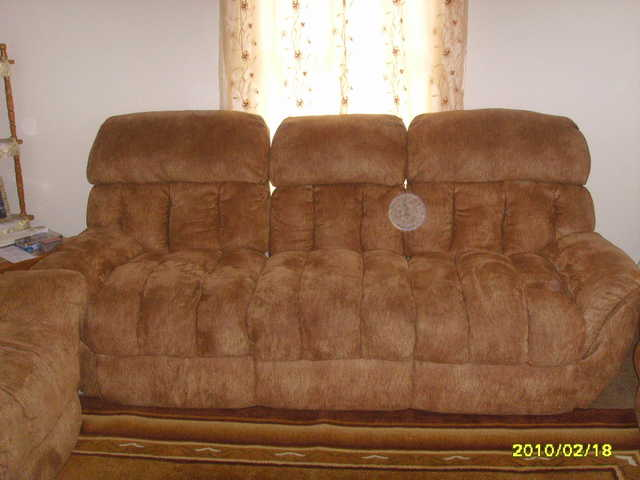 3 Reclining Couches (New)