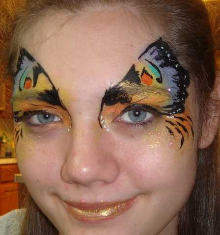 Face Painting, Glitter Art, Eye Bling
