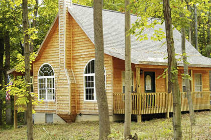 Cedar Cabin - Style Home On Wooded 2 Acres, Scenic