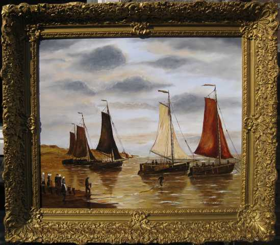 Sylvia Van De Water Dutch Paintings
