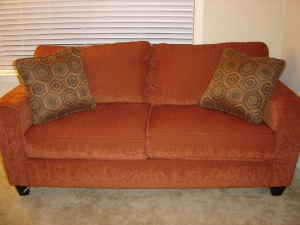 Beautiful New Full Size Couch / Sofa Bed - $600