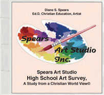 Christian Art Survey, High School (Art 1 Equivalent)