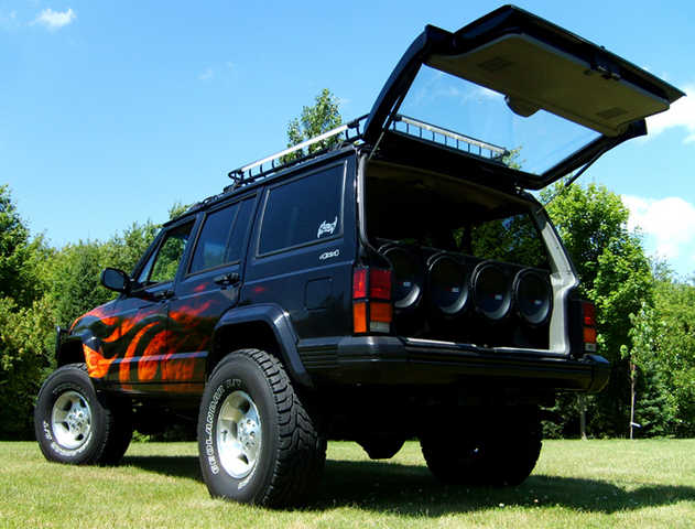 Jeep Cherokee 6 12 Ported Subwoofer Box