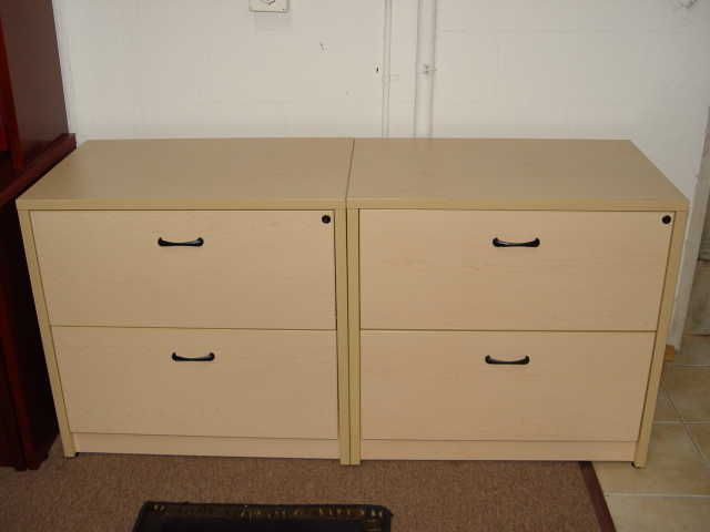 Maple 2 Drawer Laterals $229 Each