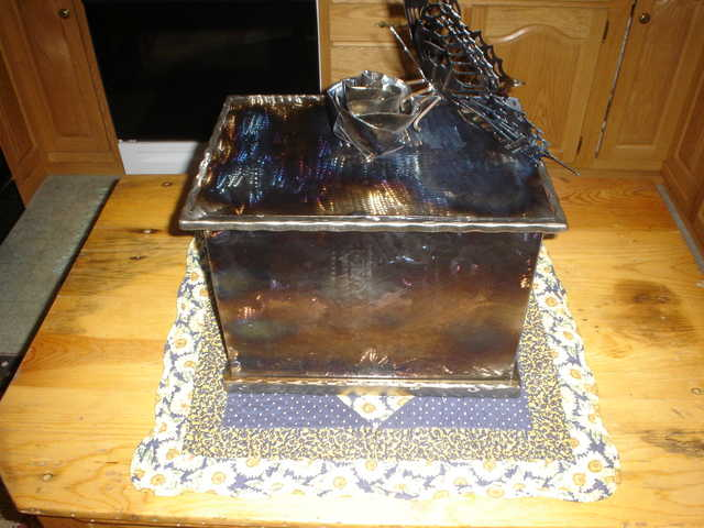 Decorative Metal Hope Chest