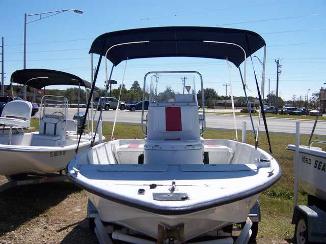 1995 Quest 170 Center Console 90 Hp Yamaha, Trlr