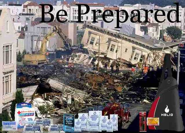 Emergency Preparedness Kits ~ One Person 3 Days