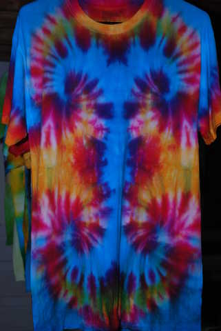 Hand Dyed Tie - Dye Tees