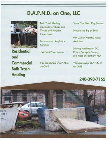 Bulk Trash Services