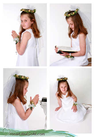 $50 First Communion Portraits For The Month Of April