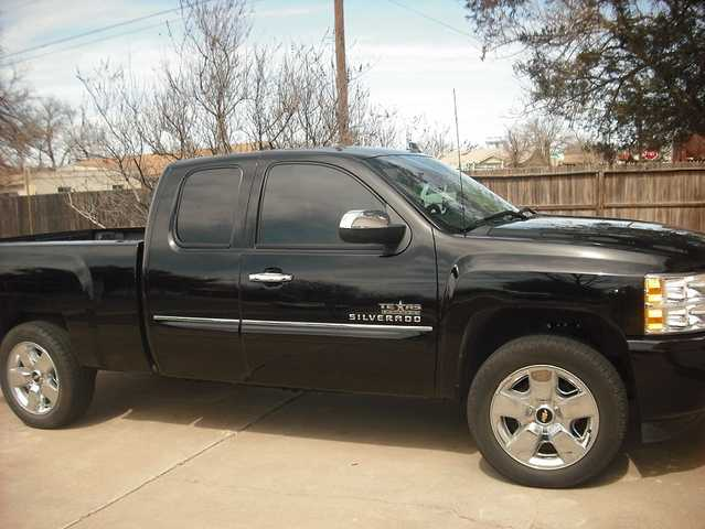 2009 Chevy Silverado Texas Edition Ext Cab