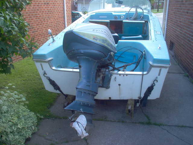 18'1965 Searay Deluxe,75hp Evinrude Outboard