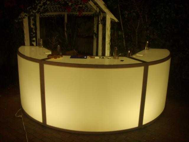 Fire water bars weddings parties south florida for Modelos de gradas