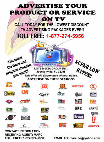 Low Cost Tv Commercials