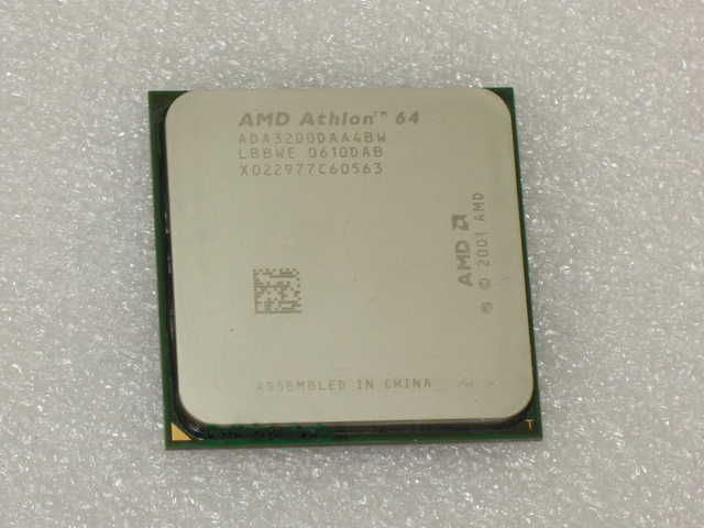 * Cheap * Amd Athlon Processor With Cooling Fan & Heatsink