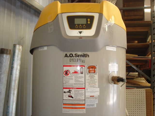New A. O. Smith Cyclone Xi Commercial Hot Water Heater