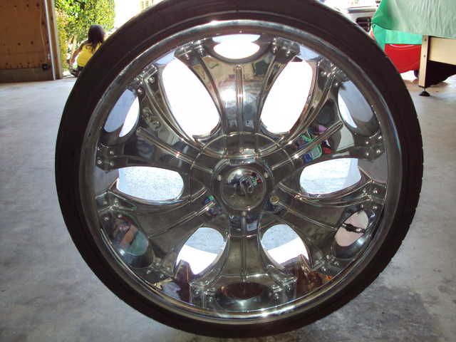 U2 Chrome Rims (20's) For Sale