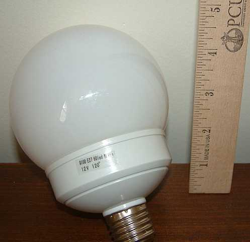 G - 100 Led Dc Light Bulb; 50,000hr Life Cycle!