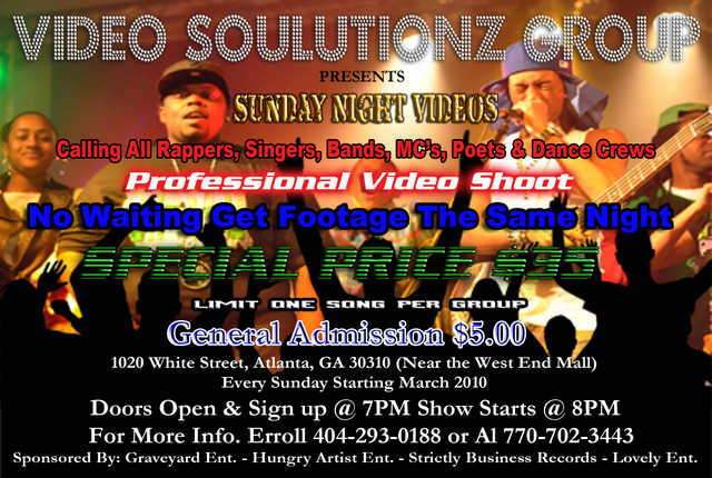 Video Soulutionz Group - Hottest Unsigned Artist Network