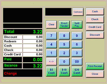 Turnkey Point Of Sale (Pos) System For Quick Service & Restaurant