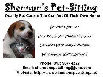 Better Business Bureau Accredited Pet Sitter
