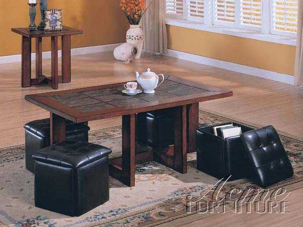 3pc Set Coffee & End Table Set