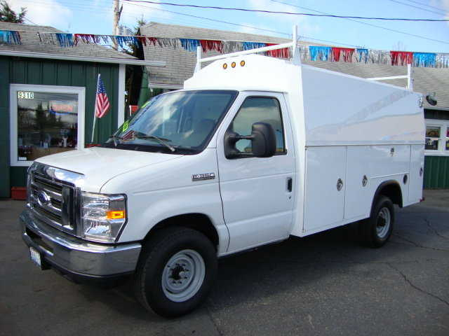 2008 Ford E350 Contractor Service Body (By Royal)