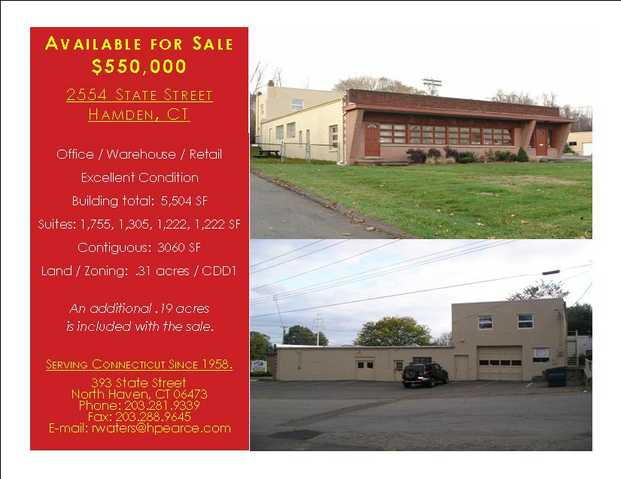 5,504 Sq. Ft. Commercial Building For Sale