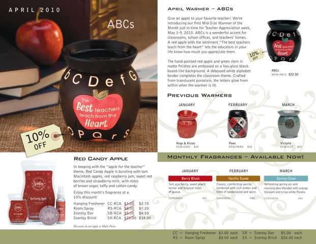 Authenic Scentsy Wickless Candles