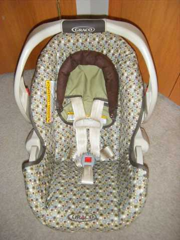 Graco Infant Car Seat (Snugride 35) Like New